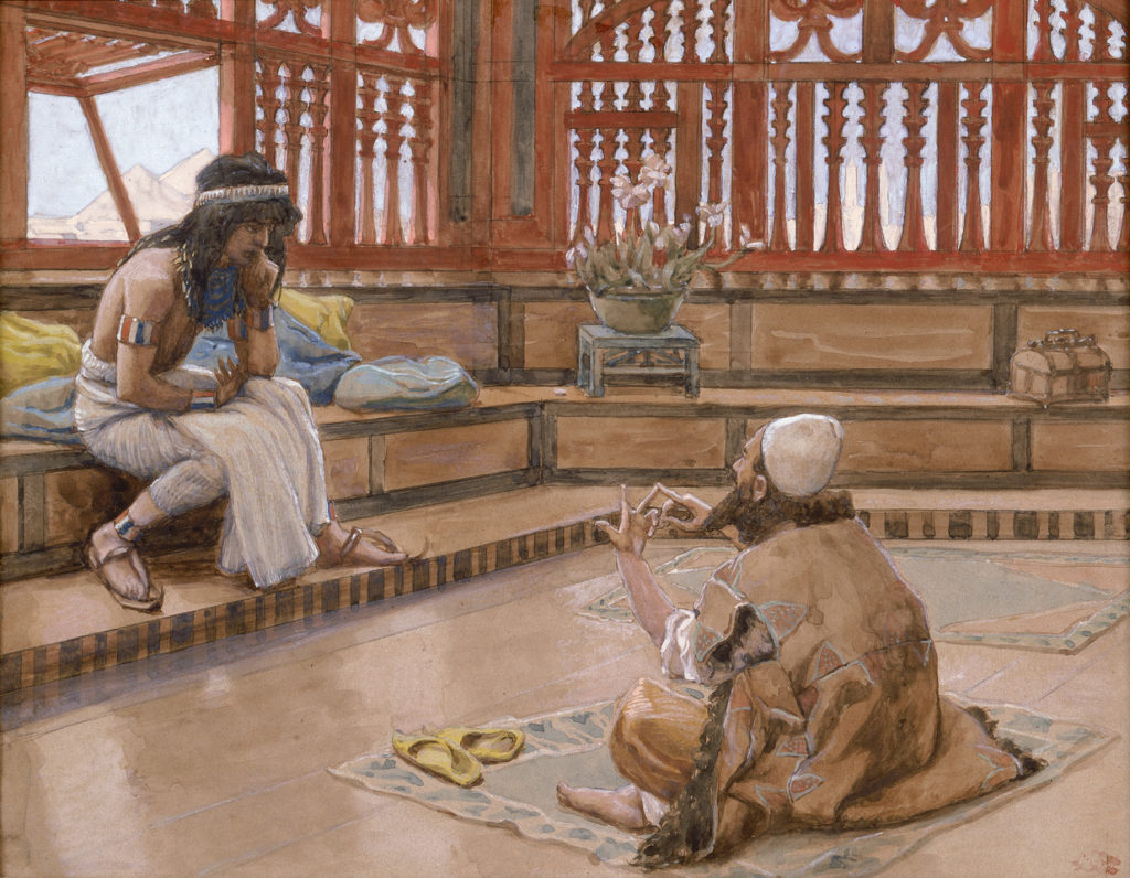 Jacques Joseph Tissot 1836 1902 Converses With Judah His Brother