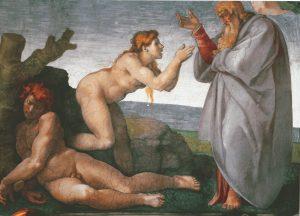 Figure 1. Michelangelo Buonarotti, 1475-1564: The Creation of Eve, 1510