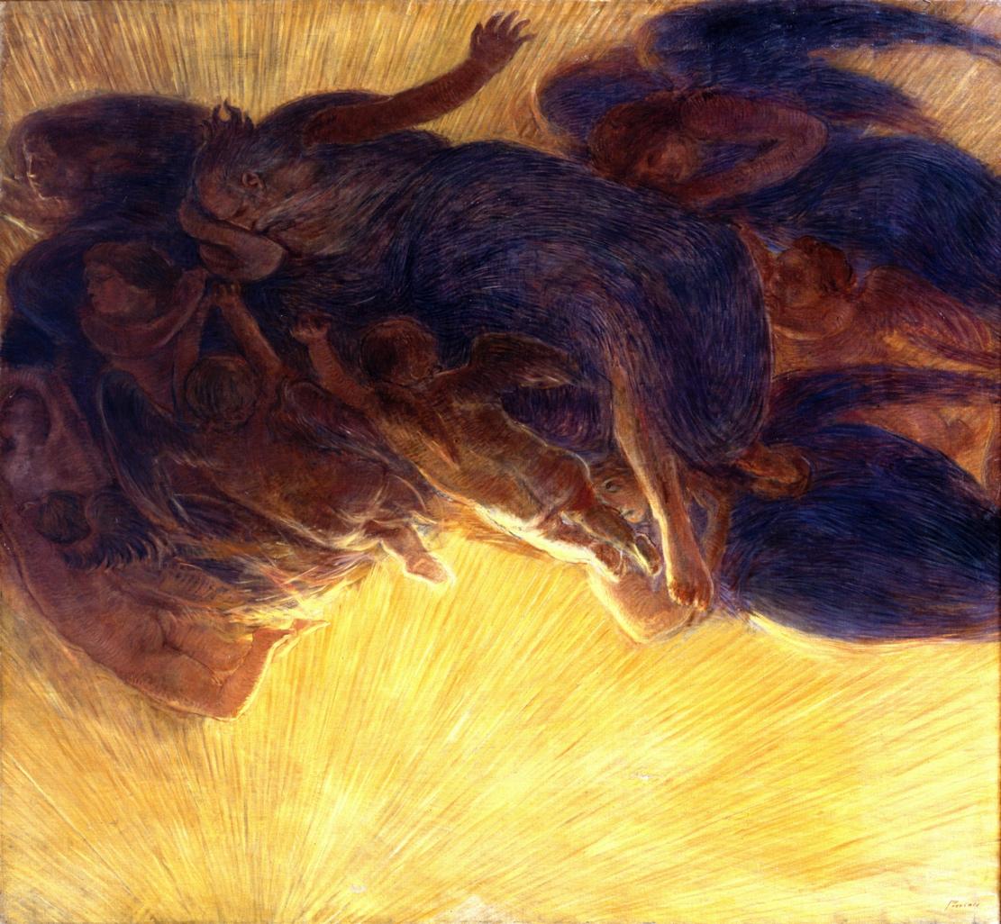 Gaetano Previati, 1852–1920: The Creation of Light, 1913