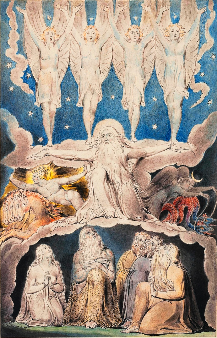 William Blake, 1757-1827: When the Morning Stars Sang Together, 1820