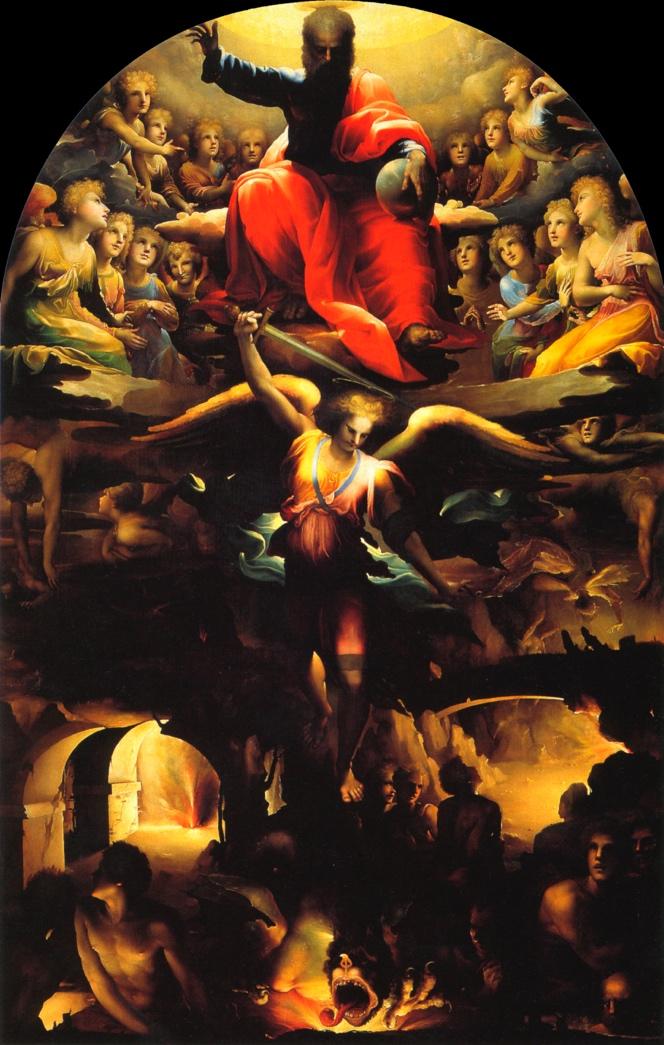 Domenico Beccafumi, ca. 1486-1551: The Fall of the Rebel Angels, ca. 1528