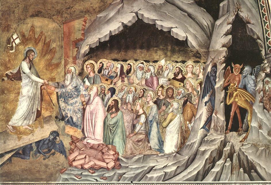 Andrea da Firenze, act. 1343-1377: Descent of Christ to Limbo, 1368