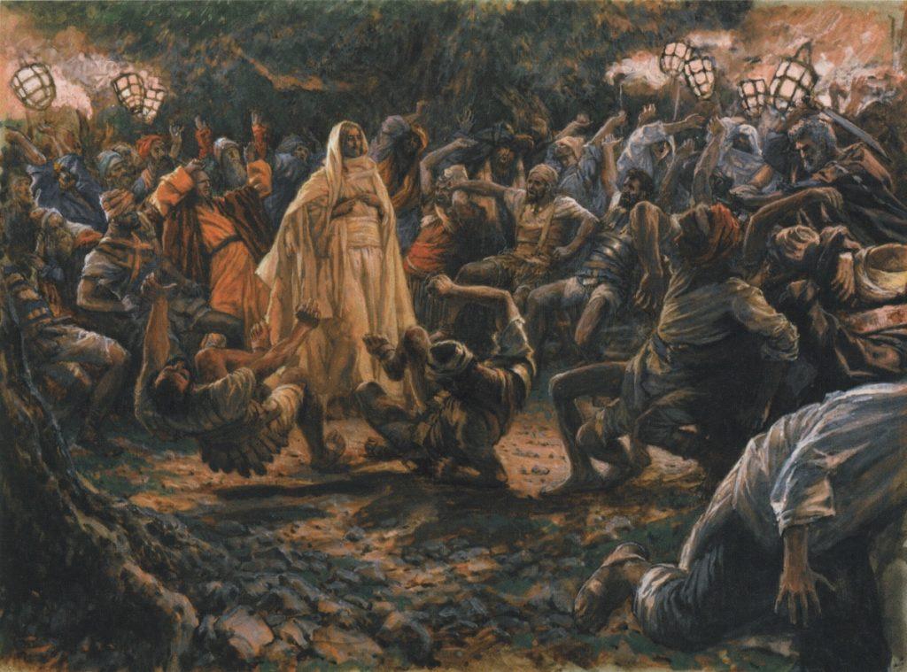James Tissot, 1836-1902: The Guards Falling Backwards, 1886-1894