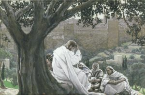 J. James Tissot, 1836-1902: The Prophecy of the Destruction of the Temple, 1886-1894.