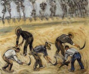 Figure 3. Albert Servaes (1883-1966): Moissonneurs, 1917