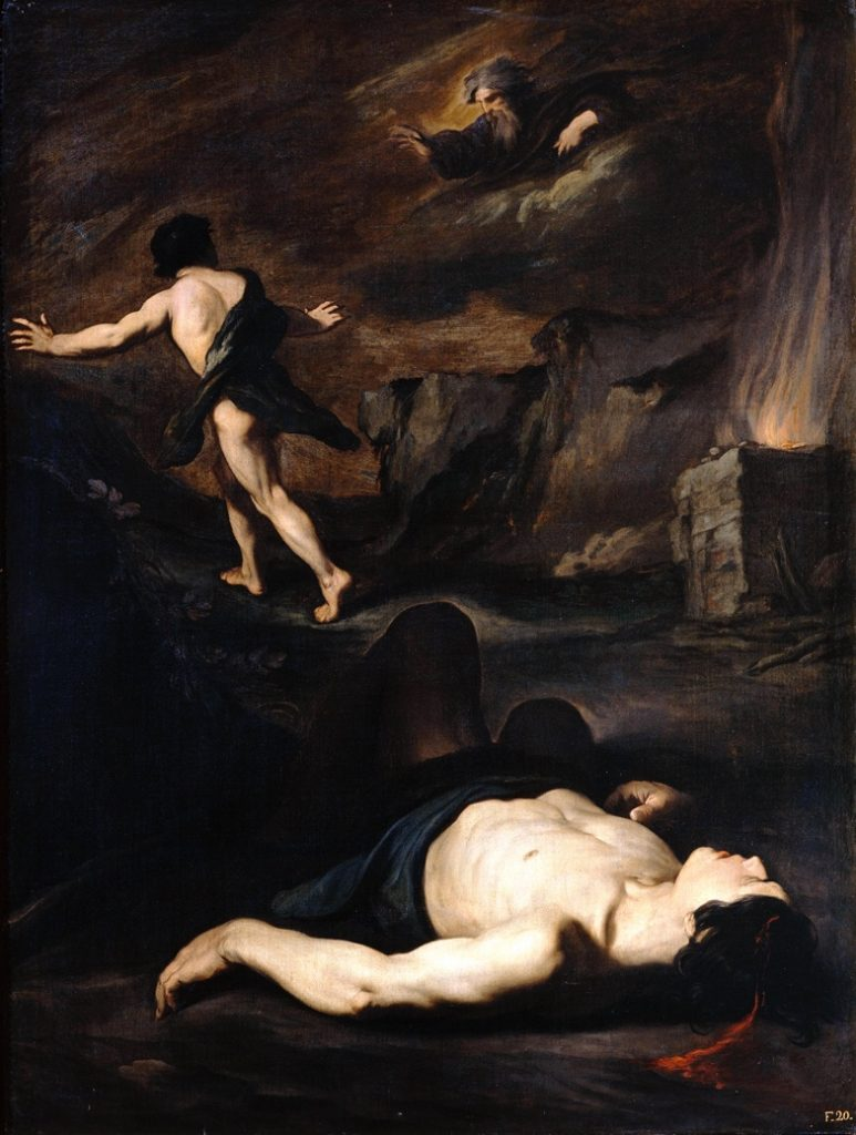 Pietro Novelli (Il Monrealese), 1603–1647, Cain and Abel.