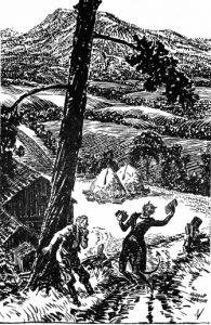 Harold Denison, 1870-1943: The Devil Approaches Jabez Stone, 1937