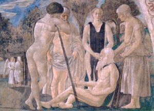 Piero della Francesca, ca. 1420-1492: Adam and His Children, ca. 1447-1466.