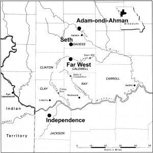 Church History Sites in Western Missouri, 1831-1839.