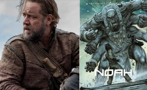 """Russell Crowe as Noah; A """"Watcher"""" on the Attack."""